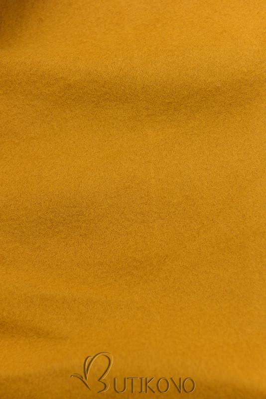 Mustard predĺžená mikina od LHD
