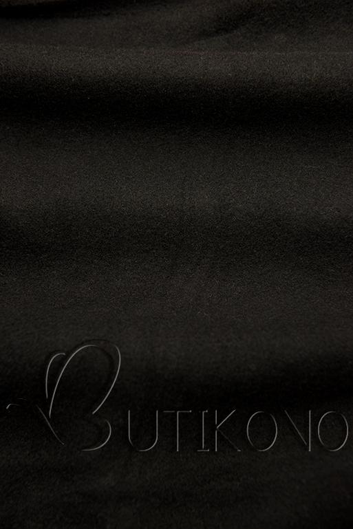 Čierna predĺžená mikina od LHD