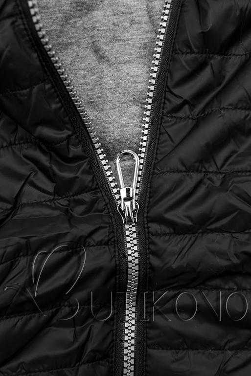 Čierna športová bunda