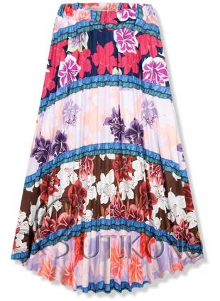 Kvetinová maxi sukňa I.