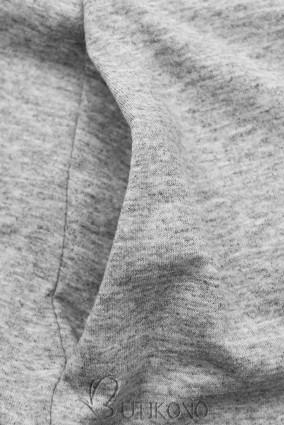Sivé šaty WOMAN