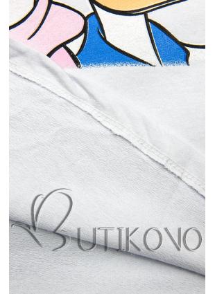 Biele tričko Paperina e Paperino