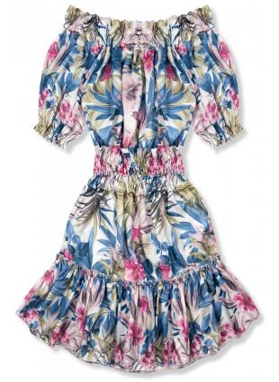 Modro-ružové šaty Serena/Ola Voga