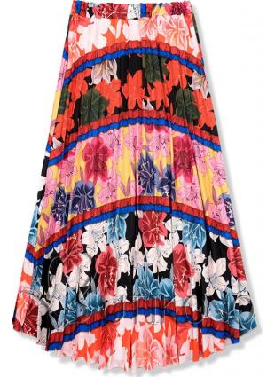 Kvetinová maxi sukňa IV.