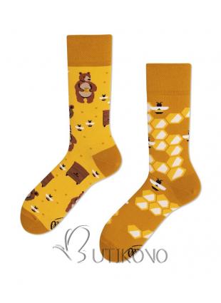 Ponožky Med od Many Mornings