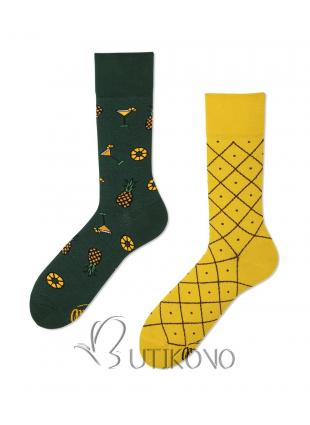 Ponožky Ananásy od Many Mornings