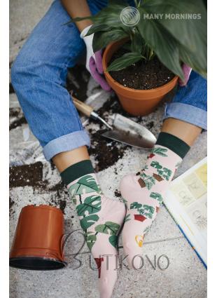 Ponožky Milovník rastlín od Many Mornings
