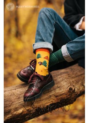 Ponožky Spomienky skauta od Many Mornings